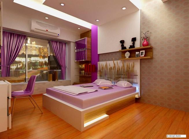 Ethnic interiors in kandivali east mumbai 400101 for Living room kandivali east