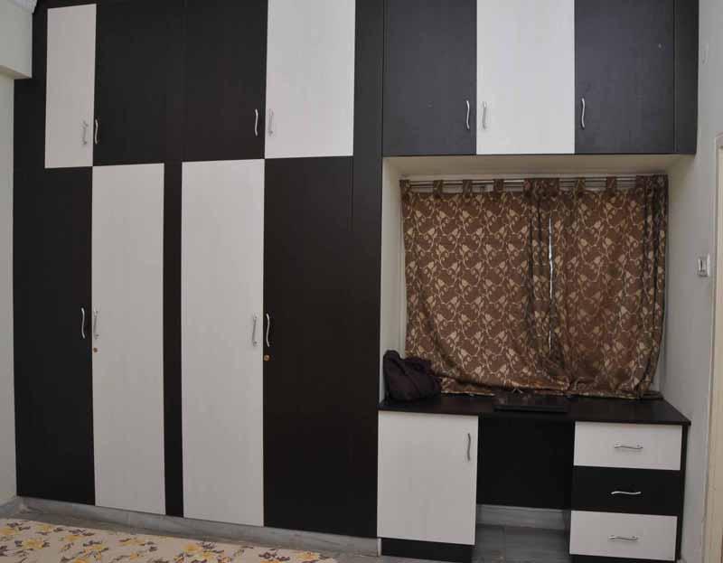 Gk interiors in serilingampally hyderabad 500008 for Interior wardrobe designs india