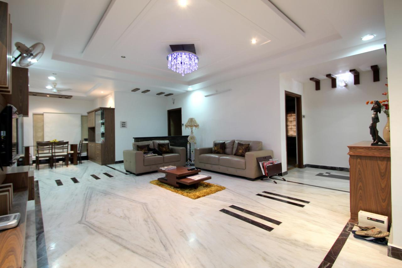 Living room designs hyderabad interior design project for Apartment interior design hyderabad