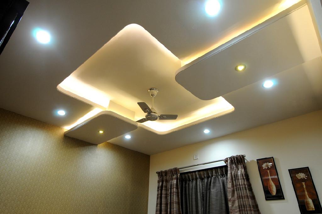 Sruja interiors in subhash nagar pune 411002 sulekha pune for Pop roof design simple