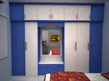 Vas interior in thadagam road coimbatore 641025 for Bedroom cupboard designs in hyderabad
