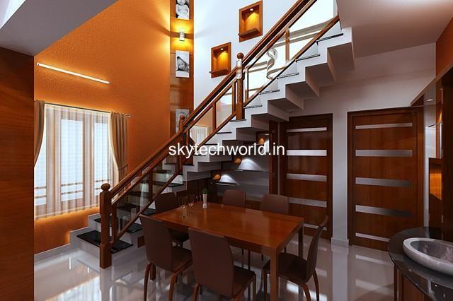 Sky tech in plamoodu trivandrum 695014 sulekha trivandrum for Dining hall interior design
