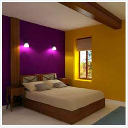 Colour combinations and home painting ideas for your walls - Interior home color combinations and contrast ...