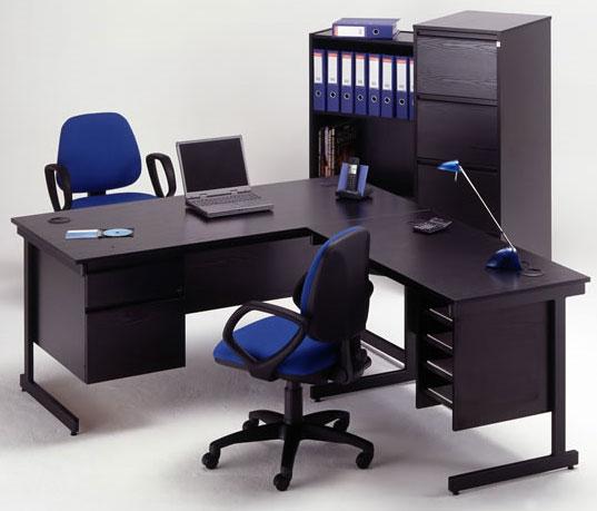 shaped desks