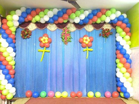 Balloon decoration decorators in chennai sulekha chennai for Balloon decoration in chennai
