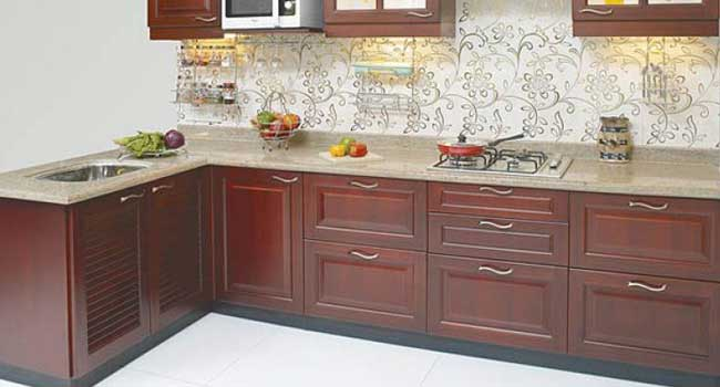 L Shaped Kitchen In Hyderabad